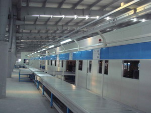 Automatic Split Air Conditioner Production Line , AC Assembly Line