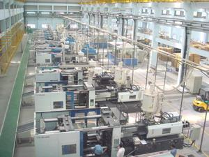 Customized Injection Molding Equipment / Machine Central Automated Feeding Systems