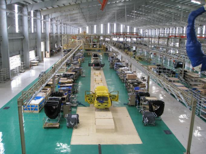 Customized Sedan Automotive Assembly Line With Conveyor For Producing Cars