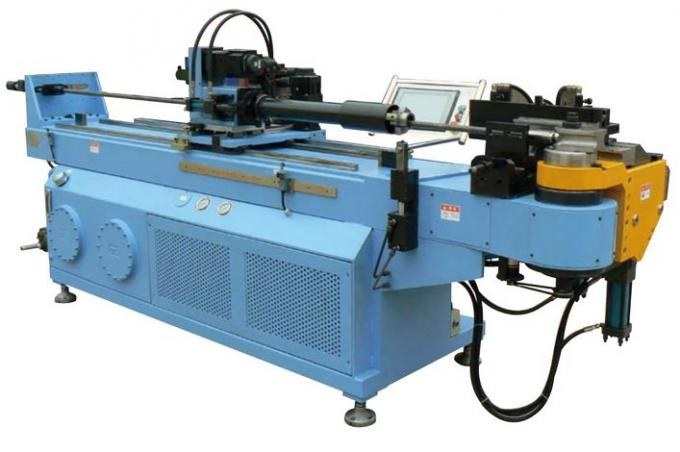 High Efficiency Automated Hydraulic CNC Tube Bender Machine 150mm 4.2 kw