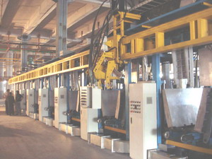 Auto Refrigerator Assembly Line , 6-station Cabinet Foaming Lines