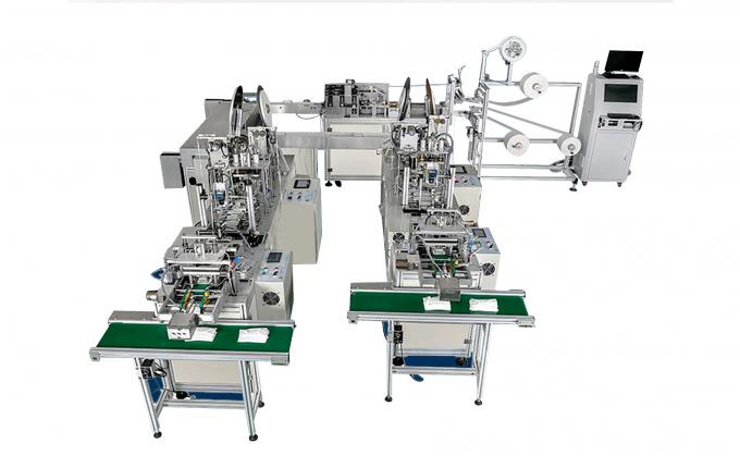 Fully Automatic Medical Planar & N95 Mask Production Line / Protective Masks Production Line