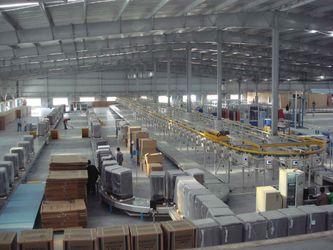 Refrigerator production line