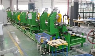 China Vacuuming Refrigerator Assembly Line Equipment With Lift Conveyor supplier