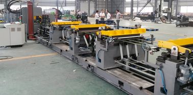 China High Speed Refrigerator Assembly Line For Cabinet Front And Rear Plate supplier