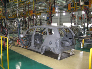 China Production Assembly Line In Automotive Industry , Car Manufacturing Assembly Line supplier