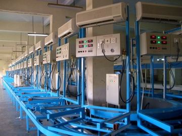 China Electronic Air Conditioner Production Line floor - type AC Performance Testing System supplier