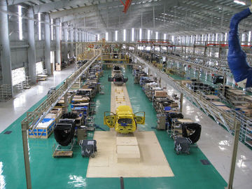 China Customized Sedan Automotive Assembly Line With Conveyor For Producing Cars supplier