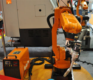 China High Efficiency Assembly Line Small Welding Industrial Robot , Installed On Floor supplier