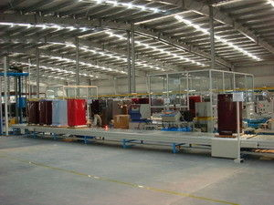 Household / Office Refrigerator Assembly Line Equipment For Producing Customized