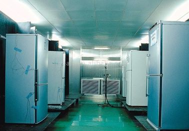 China Semi-automatically Refrigerator Assembly Line / Freezer Testing Lab Chamber For Testing supplier
