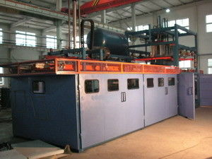 China Kinte Refrigerator Manufacturing Assembly Line Single Station Thermo Forming Machine supplier