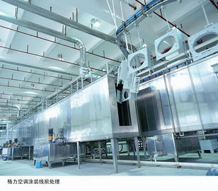 China Industrial Powder Coating Line Painting Equipment For Home Appliances supplier