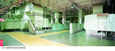China High Performance Sewage Surface Treatment Equipment For Motorcycle Parts supplier