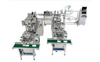 China Fully Automatic Medical Planar & N95 Mask Production Line / Protective Masks Production Line supplier