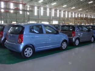 SUV Automotive Assembly Line Machine , Auto Production Line Equipment