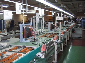 China Full Automatic Tv Assembly Line Conveyor , Television Production Equipment distributor