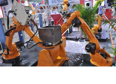 "China High-Strength Small Industrial Robot For Welding , 6.4"" Color Led Display distributor"
