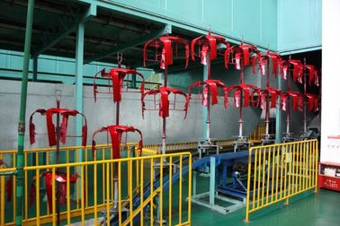 China Custom Motorcycle Assembly Line Equipment Automatic Painting System distributor
