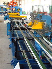 China U-bending Freezer / Refrigerator Automated Assembly Line Roll Forming Lines distributor