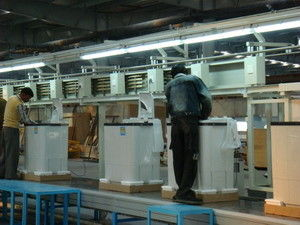 China Automotive Washing Machine Production Line Machinery With Different Size distributor