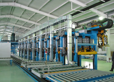 China Cabinet Foaming Line Automatical For Refrigerator Assembly Line With Long Life , Speed Adjustable distributor