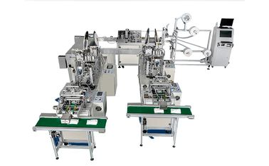 China Fully Automatic Medical Planar & N95 Mask Production Line / Protective Masks Production Line distributor
